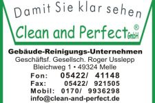 Clean and Perfect GmbH Logo